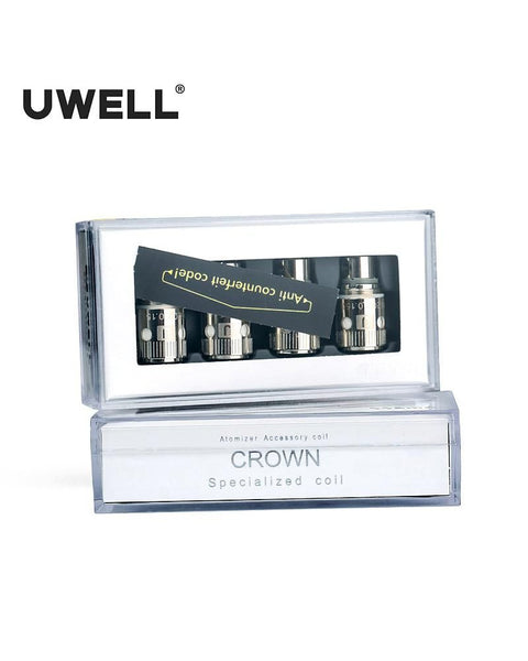Uwell Crown 0.5 ohm Coils - Four Pack