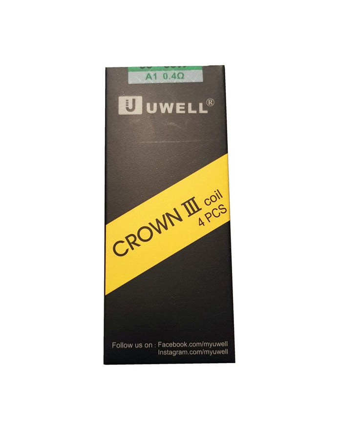 Uwell Crown III Replacement Coils - Four Pack