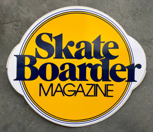 Skateboarder Magazine Sticker Vintage from the 1970's