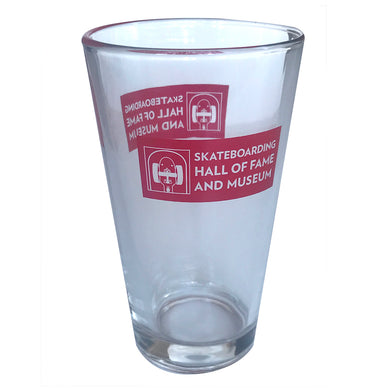Hall of Fame Pint Glass
