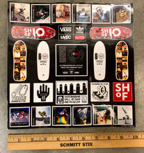 SHoF 10 year Anniversary Sticker Sheet