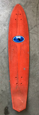 Vintage 1970's Makaha Pro Flex Skateboard in Orange or Blue