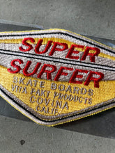 Super Surfer Skate Boards Jacket Patch