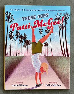 There Goes Patti McGee Hardcover Book