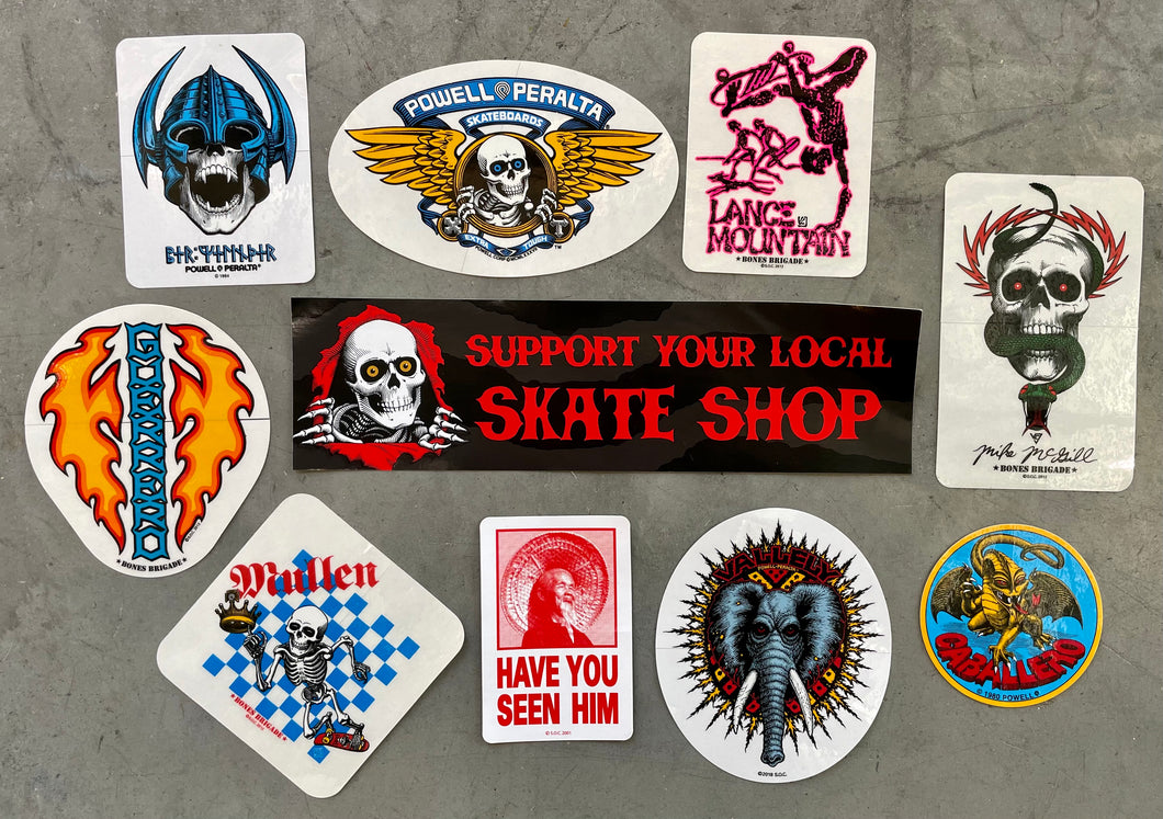 Powell Peralta Classic Sticker Assortment