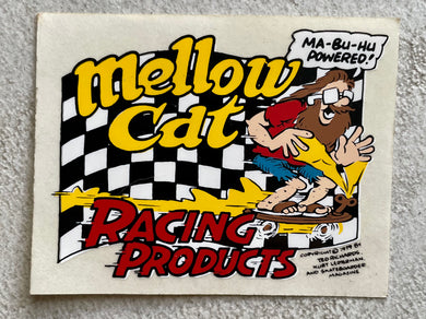 Vintage Mellow Cat Sticker
