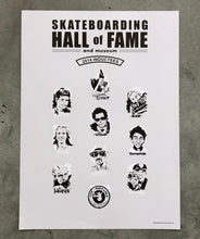 Official 2014 Induction Ceremony Poster