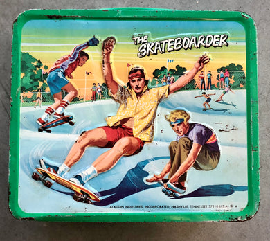 The Skateboarder Lunchbox by Aladdin Industries
