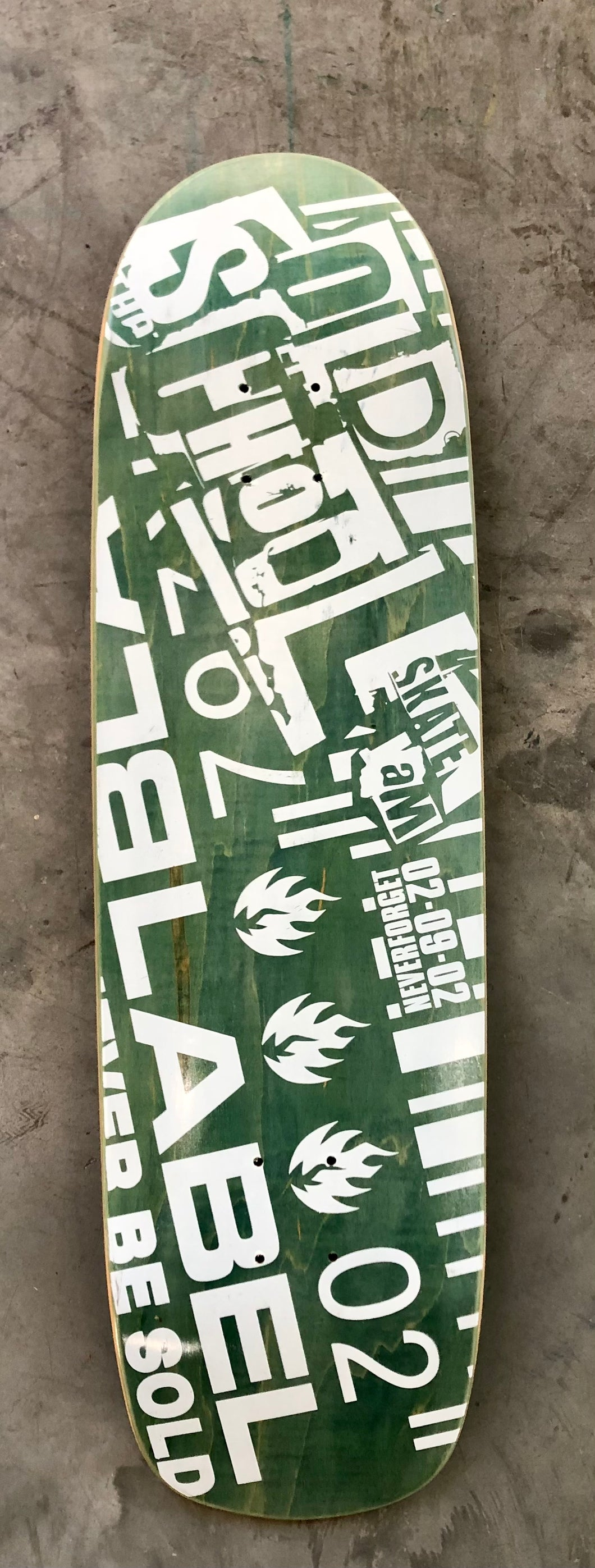 Rare Black Label Deck from 2002