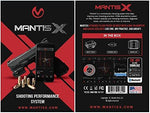 MantisX Firearm Training System - pamphlet