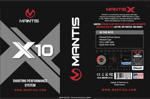Mantis X 10 Elite performance training system