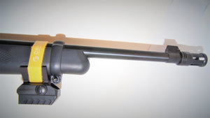 Xmount for MatisX sensor on rifels and air rifles MantisX sensor Ruger 10/22with Xmount atached