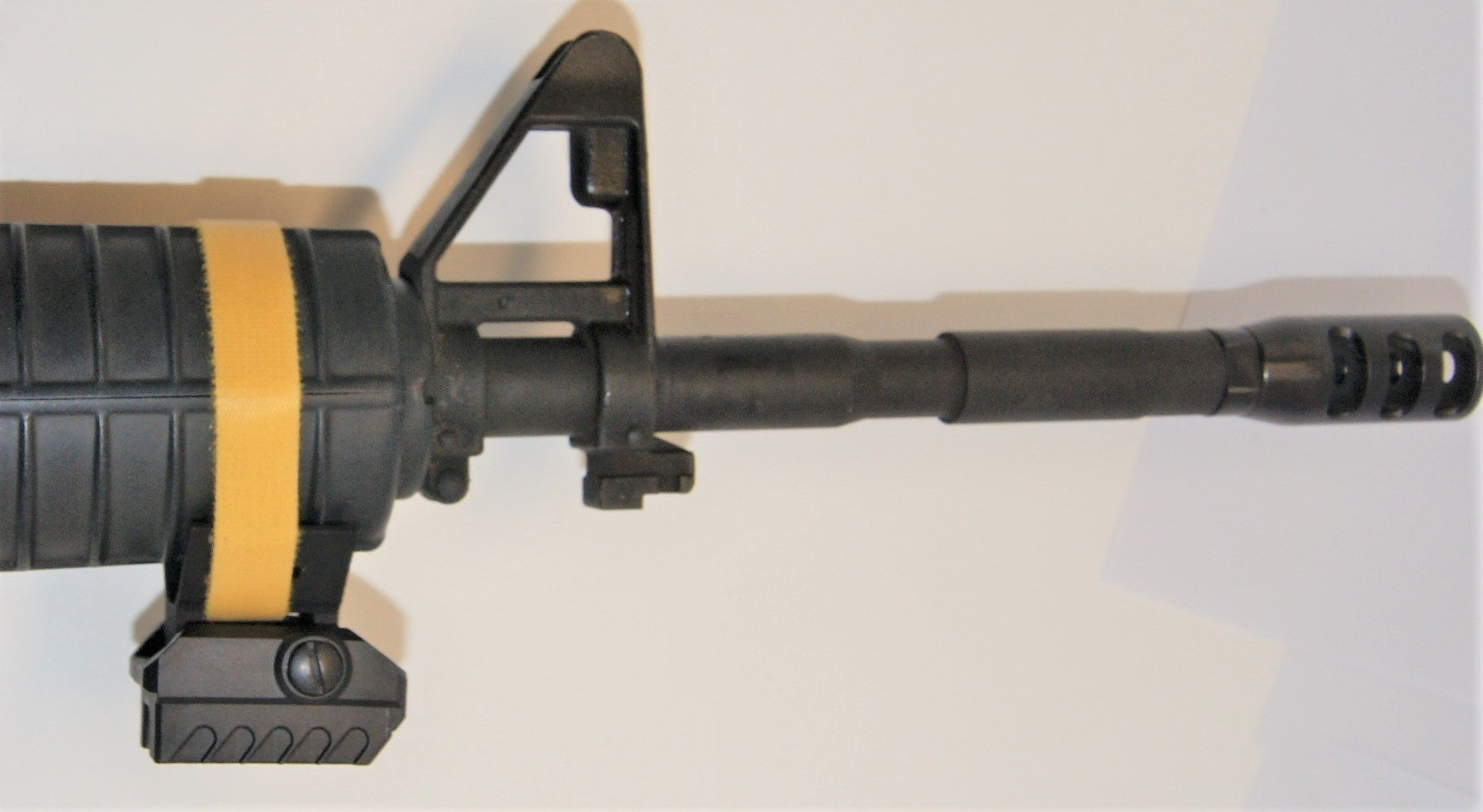 Xmount for MatisX sensor on rifels and air rifles MantisX sensor with Xmount atached AR 15