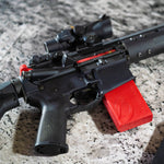 Break open your AR, remove the bolt carrier group, drop in Blackbeard, close your baby up, and put the magazine in place to provide the power. It's a 20 second change-out. Dry fire away, counting how much money you're saving with every sweet trigger break and reset that you hear.Laser Trainer Dry Fire Training Laser