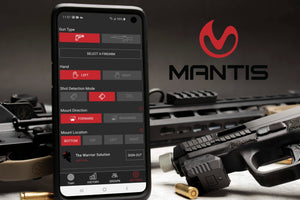MantisX 10 system user for rifel, shotdun and pistol , live and dray fire training
