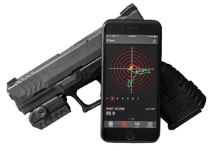MantisX Firearm Training System - gun and smartphone app