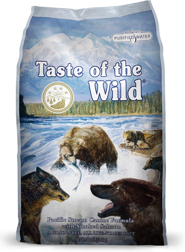 Taste Of The Wild Pacific Stream Dry Dog Food 28lbs