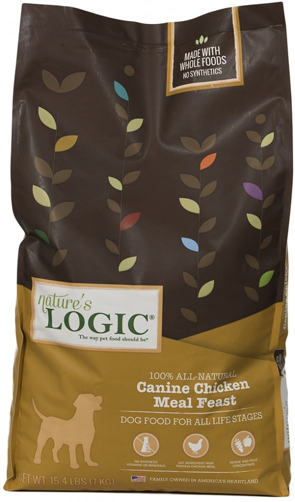 Nature's Logic Canine Chicken Meal Feast Dry Dog Food