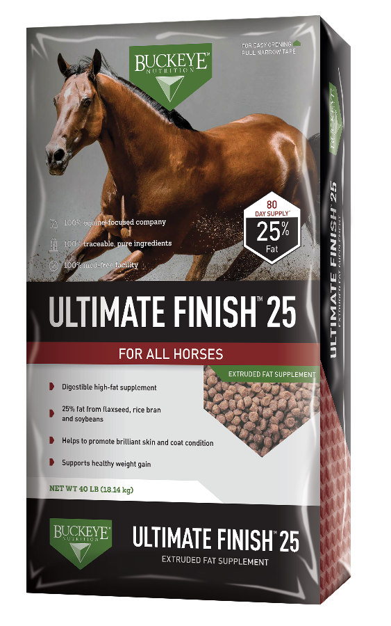 BUCKEYE™Nutrition Ultimate Finish 25