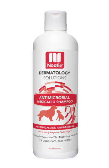 Nootie Dermatology Solutions Antimicrobial Medicated Shampoo For Dogs