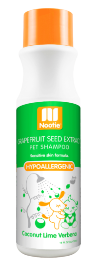 Nootie Grapefruit Seed Extract Coconut Lime Verbena Hypoallergenic Shampoo for Dogs