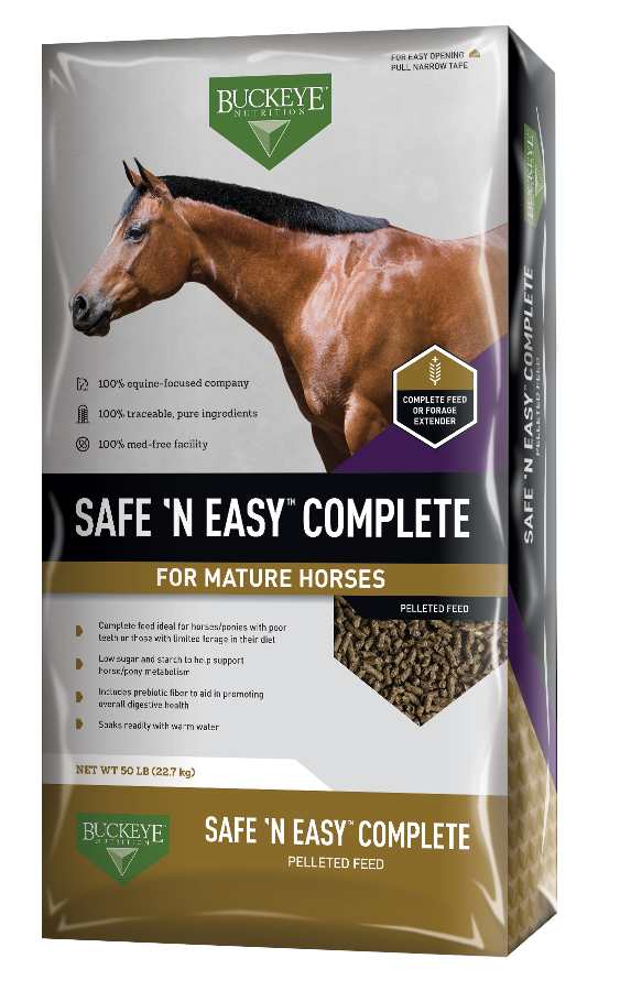 BUCKEYE™Nutrition Safe 'n Easy Complete 50lbs