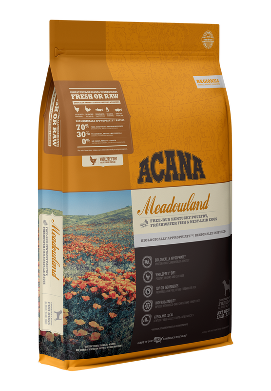 Acana Meadowland Dog Food 13lbs