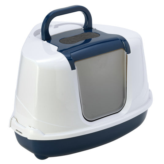 Moderna Flip corner closed cat litter box