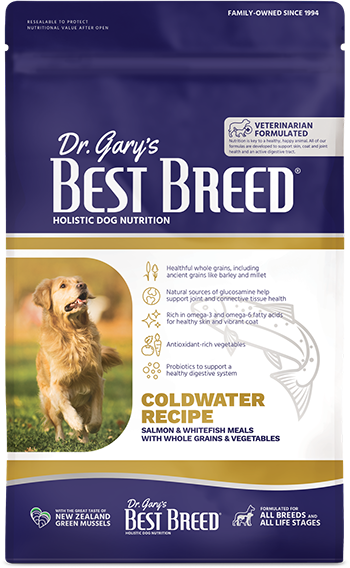 Best Breed Coldwater Recipe, Salmon, Whitefish, Whole Grains, & Vegetables