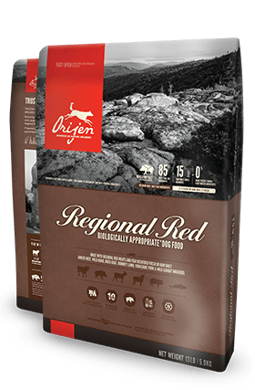Orijen Regional Red Dog Food 25lbs
