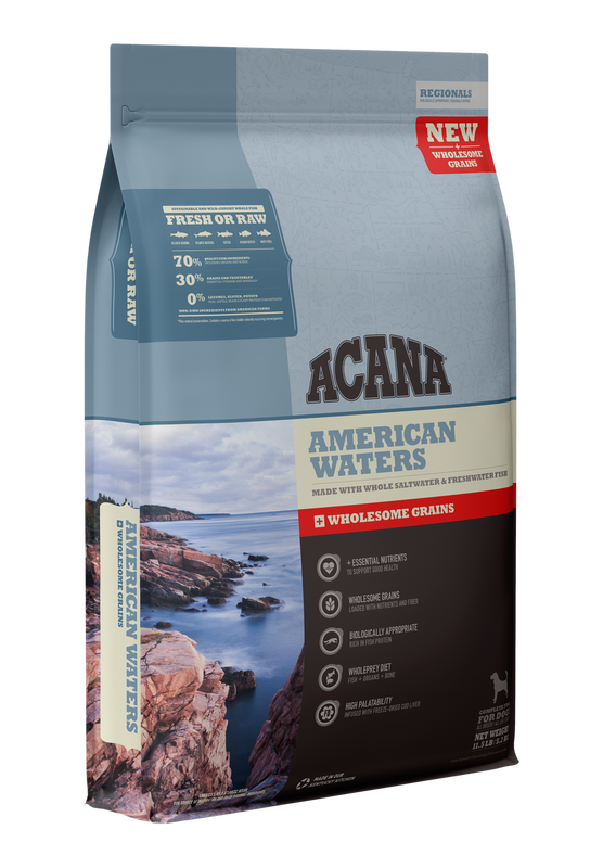 Acana American Waters With Wholesome Grains 11.5lbs