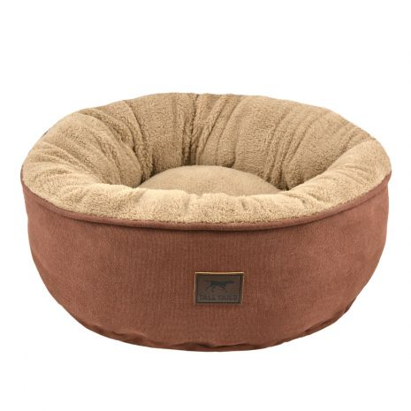 "Tall Tails Donut Bed 18""x18""x7"" Small Brown"