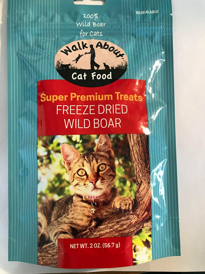 Walk About Pet Freeze Dried Wild Boar 2oz