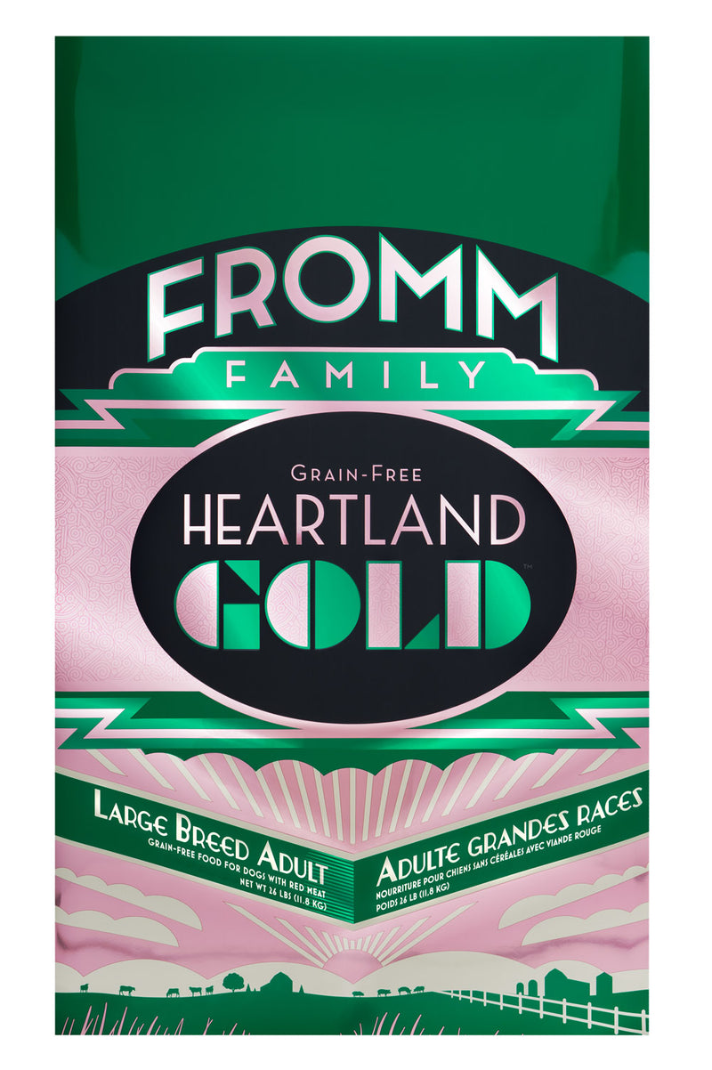 Fromm Heartland Gold Grain Free Large Breed Adult 26lbs