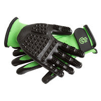 HandsOn Grooming Gloves - Black Size Junior
