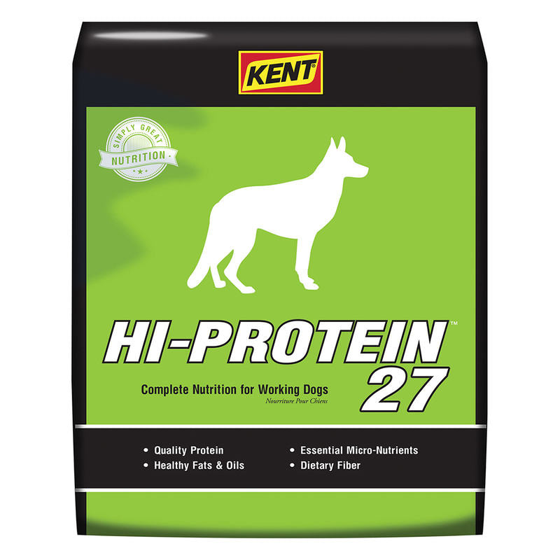 Kent Hi-Protein 27 Dog Food 40lbs