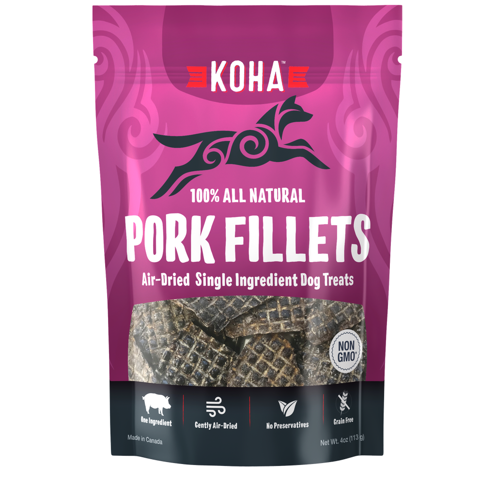 Koha Pork Fillets 4.0oz