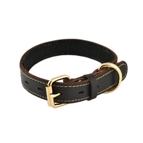 Tall Tails Leather Collar Medium
