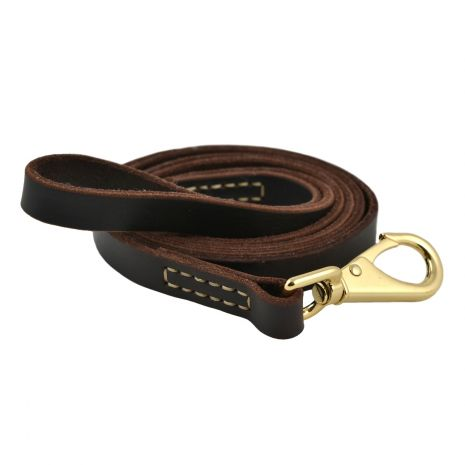 Tall Tails Leather Leash Small