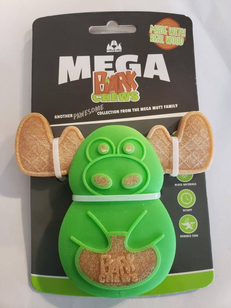Mega Mutt Moose Bark Chew Dog Toy