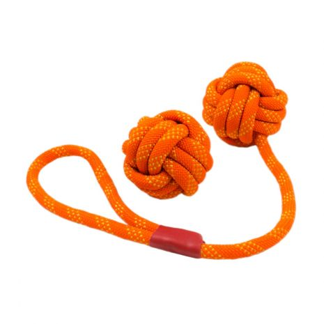Tall Tails 2 Pack Orange Floating Rope Set Toy