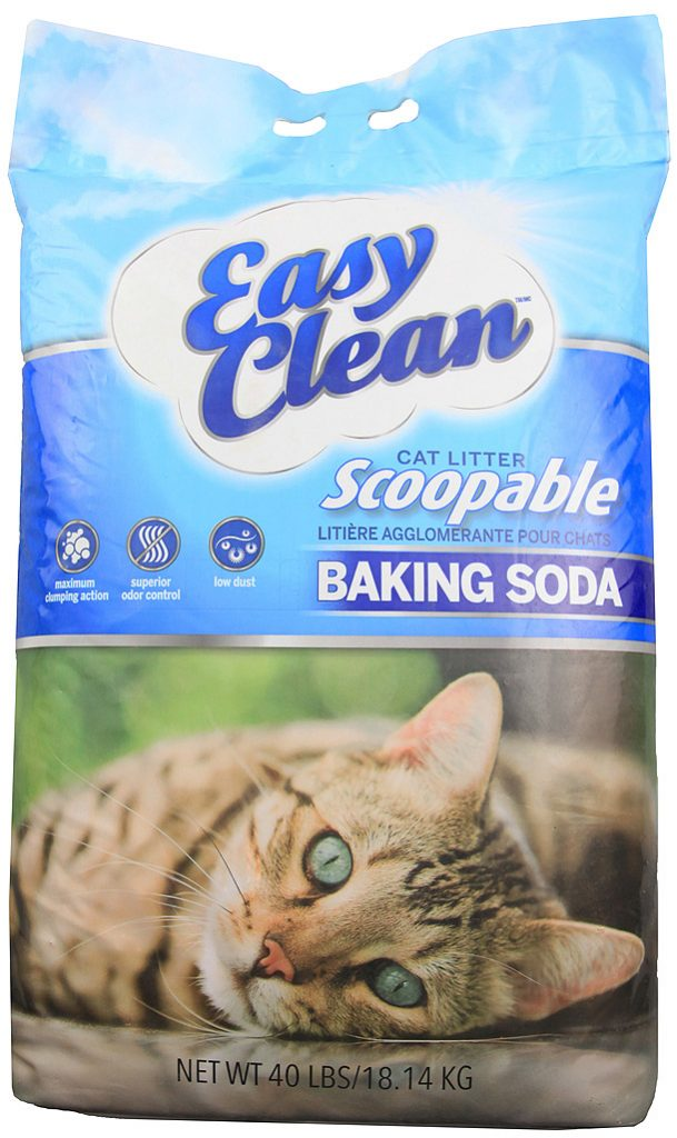 Pestell Clumping Cat Litter with Baking Soda 40lbs