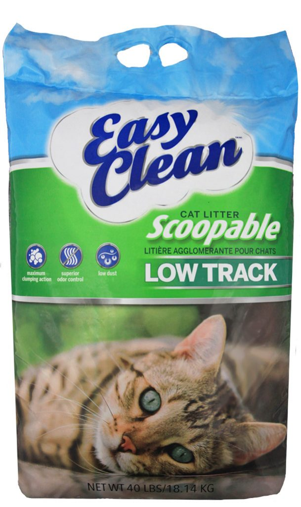 Pestell Clumping Low Track Cat Litter 40lbs