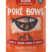 KOHA Poke Bowl Tuna & Chicken for Cats 3oz Pouch