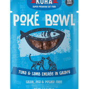 KOHA Poke Bowl Tuna & Lamb for Cats 3oz Pouch