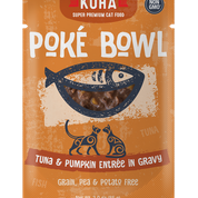 KOHA Poke Bowl Tuna & Pumpkin for Cats 3oz Pouch