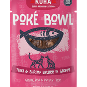 KOHA Poke Bowl Tuna & Shrimp for Cats 3oz Pouch