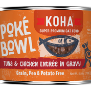 KOHA Poke Bowl Tuna & Chicken for Cats 5.5oz Can
