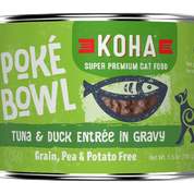KOHA Poke Bowl Tuna & Duck for Cats 5.5oz Can