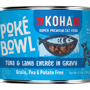 KOHA Poke Bowl Tuna & Lamb for Cats 5.5oz Can